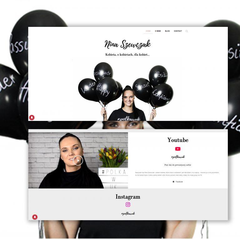 Web Design Creative Maja Nina Szewczak polka w uk
