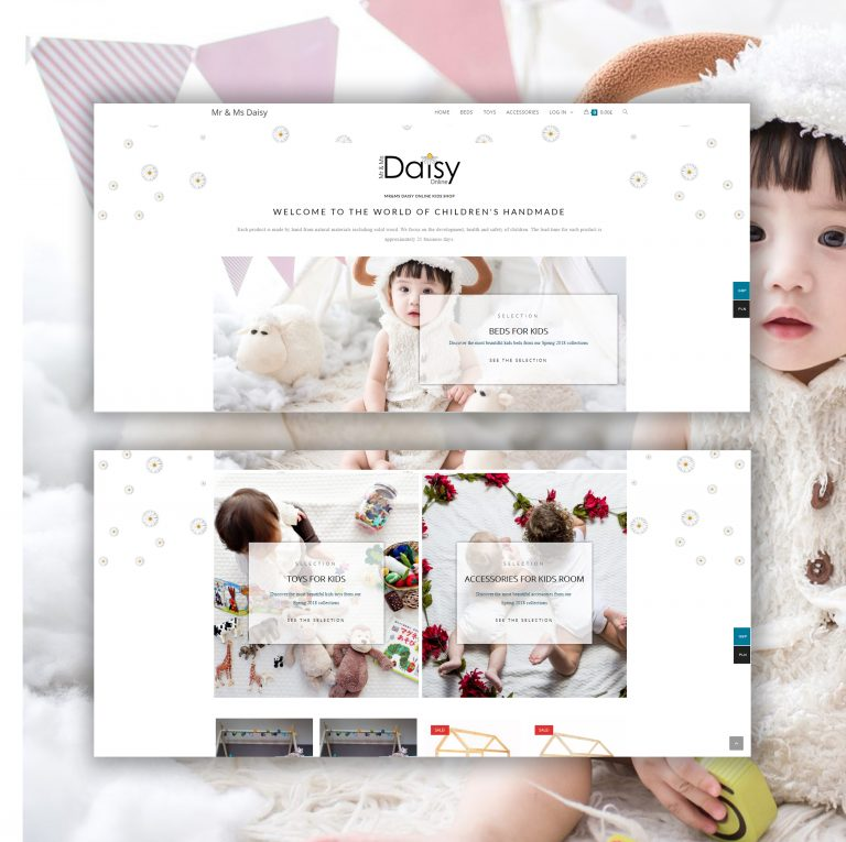Design Online Sohp Creative Maja online daisy