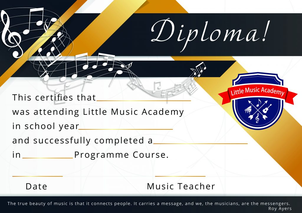 Little music academy web design , logo design,photo , dyplom design